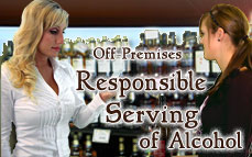 Off-Premises Responsible Serving® of Alcohol Online Training & Certification